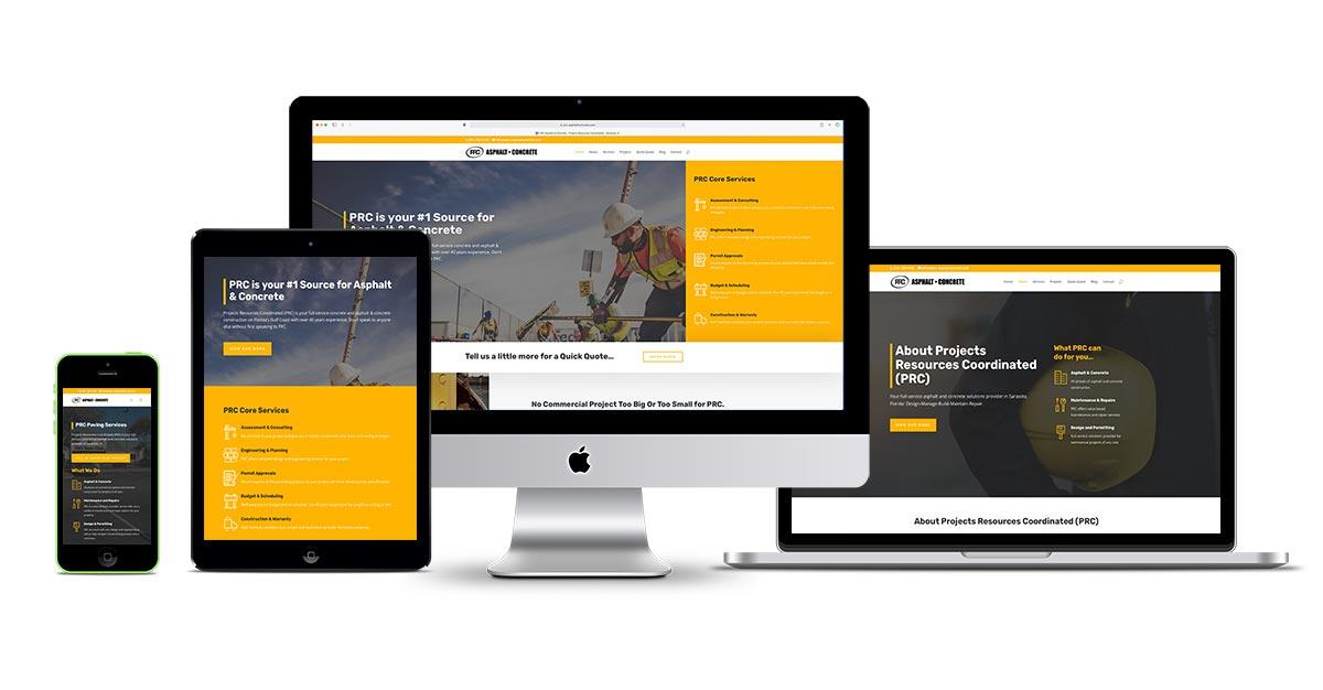sarasota wordpress website design