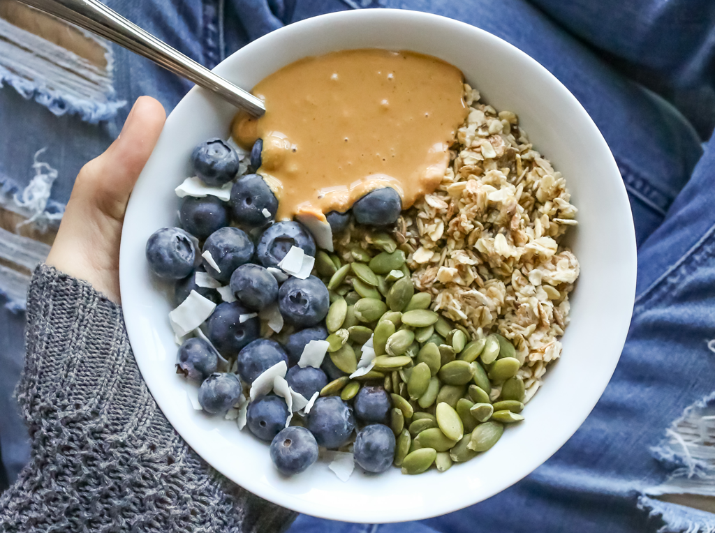 simple oatmeal recipe vegan inspired by nick