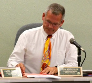 Jon on city council, Sept 2015