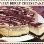 """""""Very Berry"""" Chuckanut Bay Cheesecake"""