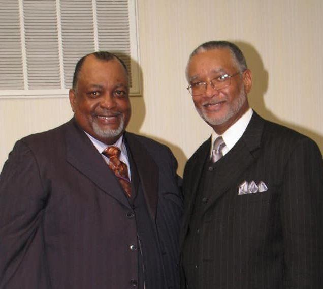 Chairman Glenn Sawyer and Dr. Gary L. Cordon, Sr.