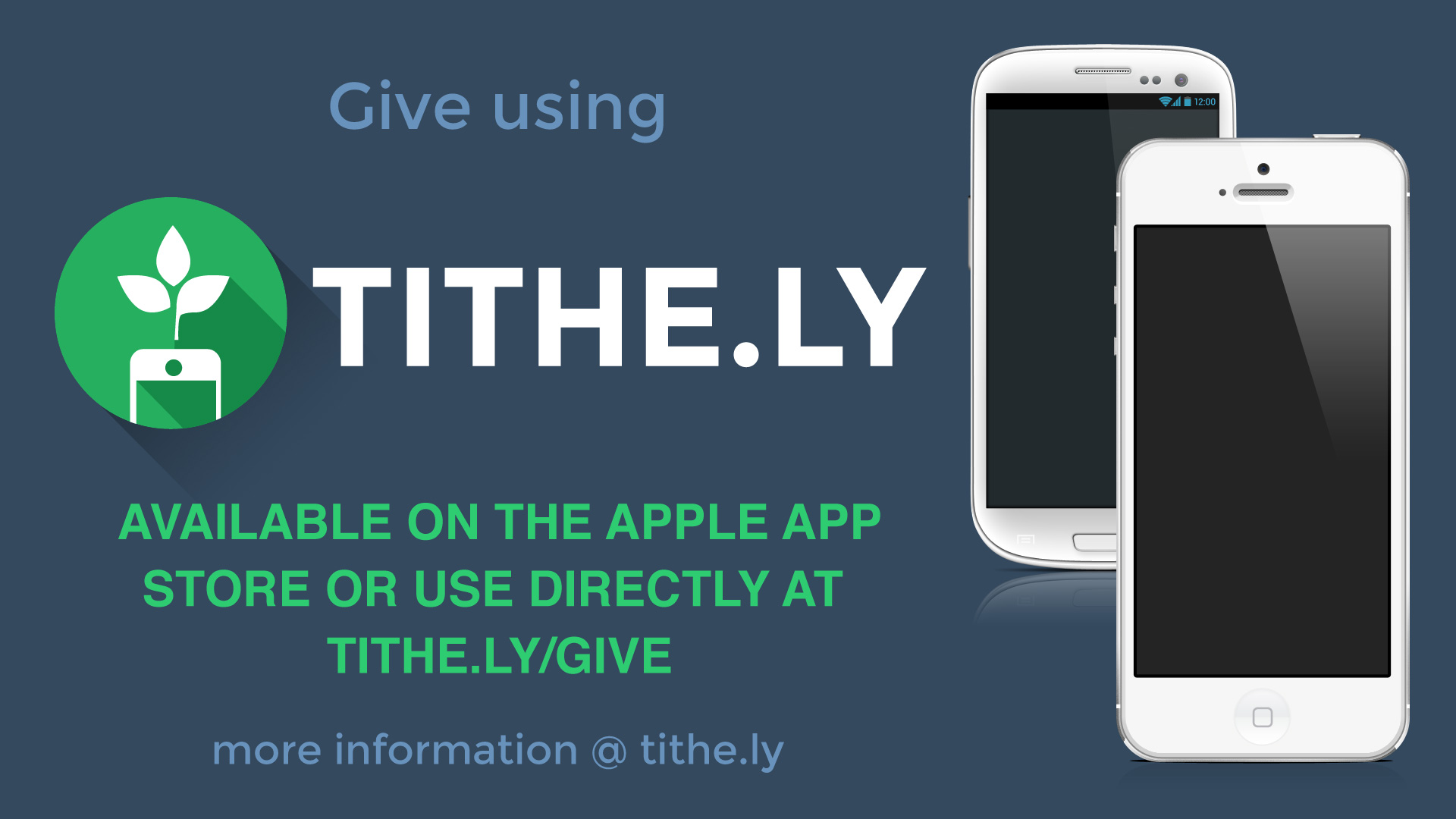 Give using Tithe.ly