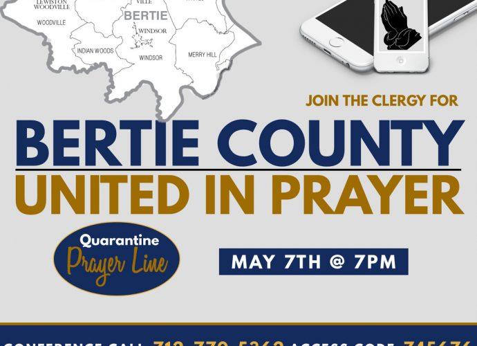 Bertie County United in Prayer