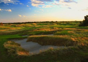 _ hole at Erin Hills; Erin, Wisconsin; August, 2010.  PM shoot; photo by Paul Hundley