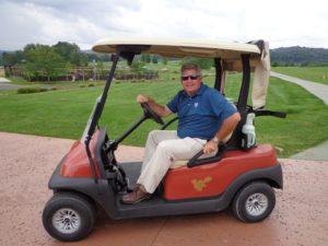 DSC07176 Mike Jones gets cart #1 DS