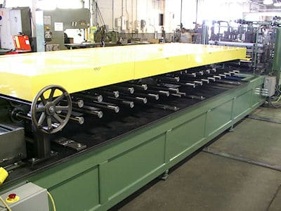 Variable Head Shelf Line Rollformer