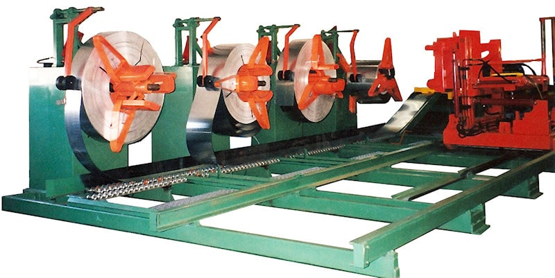 Multiple Decoiler with Coil Car System
