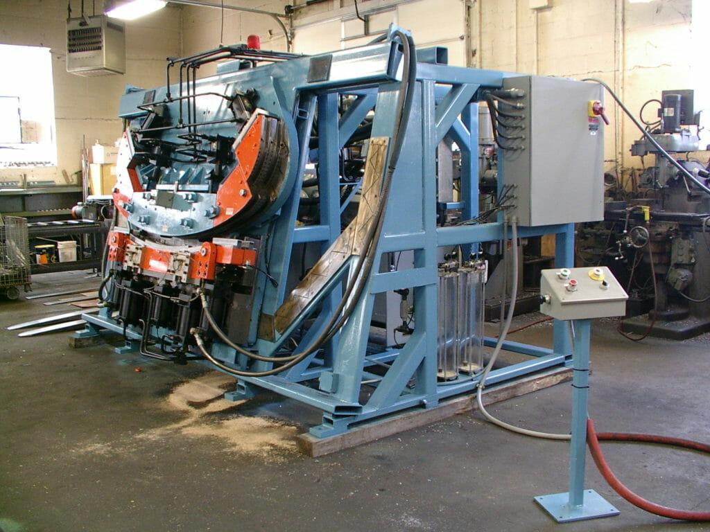 Bow Bender Forming Press After Rebuild