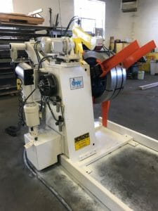 Stiffener Line Decoiler Refurbished