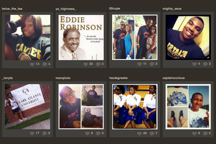 Instagram Nation - Sharing your HBCU Experience [INFOGRAPHIC]