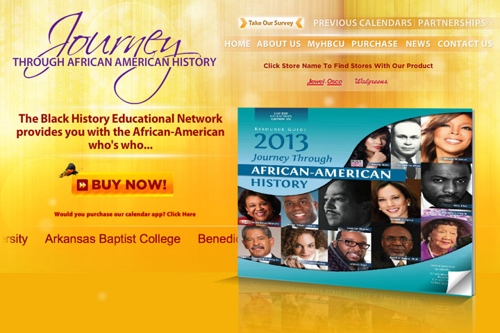 2013 Black History Calendar Sales to Benefit 12 HBCUs
