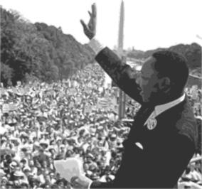 MLK's dream has stil not been completely realized