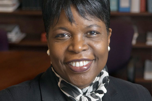 Portrait of Dr. Elmira Mangum, the first female President of Florida A&M University.