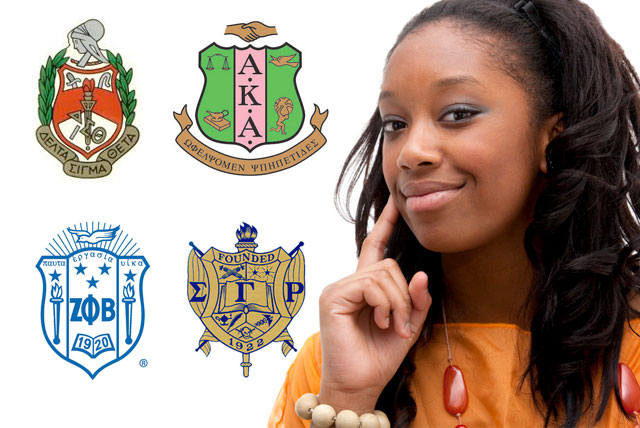 Young African American woman pondering over The five challenges for black sororities.