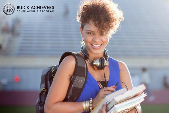Buick Scholarship: Student thinks about opportunity to win a full ride to college.
