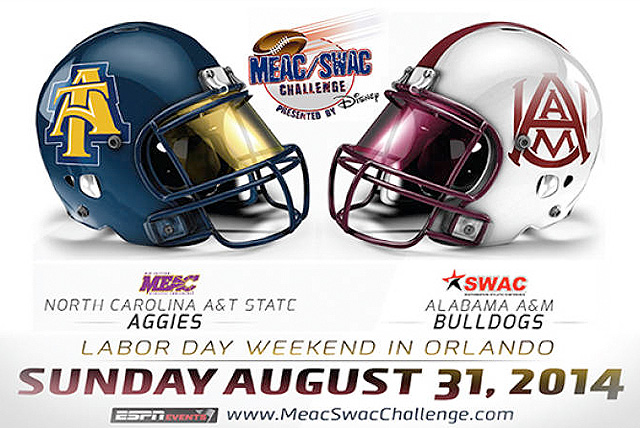 The 10th Annual MEAC SWAC Challenge presented by Disney will be played at Bright House Networks Stadium on the campus of the University of Central Florida (UCF)