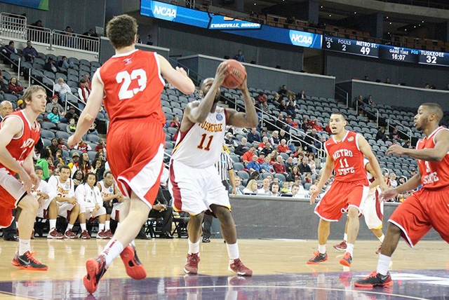 Tuskegee Golden Tigers Ends Season With Loss to NCAA II Top Seed Metropolitan State Roadrunners.