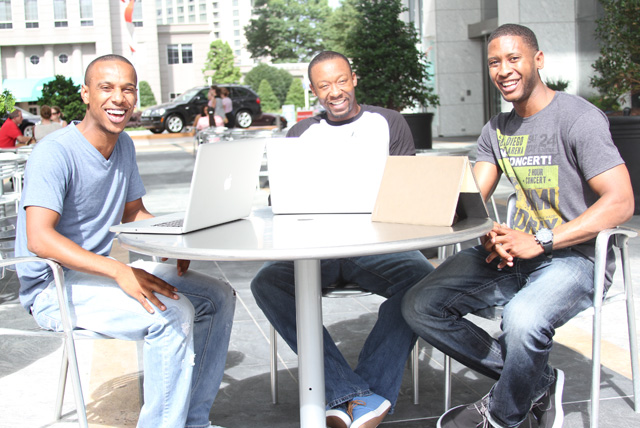 Growtuity cofounders (from left to right): Torrence Reed, Jamerus Payton, and Baxter Smith