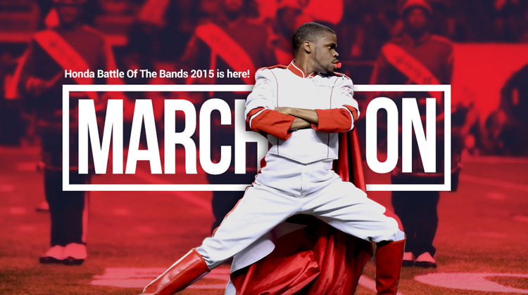 """Honda Battle of the Bands Readies to """"March On"""" to the Georgia Dome"""