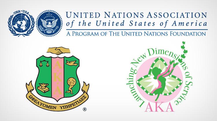 Alpha Kappa Alpha Partners with UNA-USA for Global Initiative.