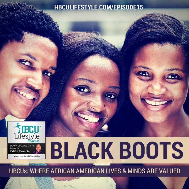 Group of african american HBCU students closeup
