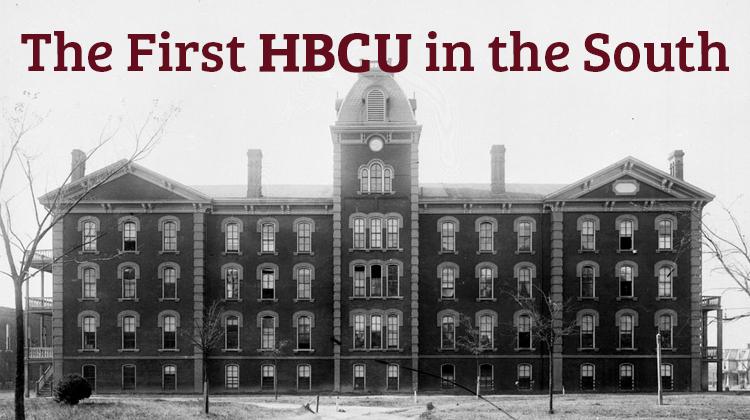 haw Hall, Shaw University circa the 1880s.