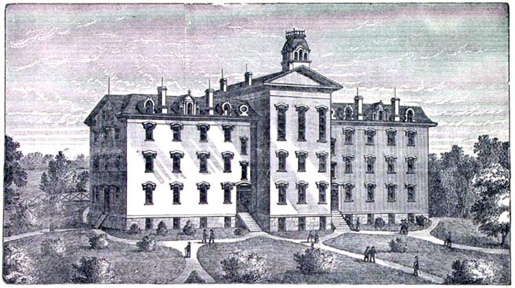 Wilberforce University circa 1885.
