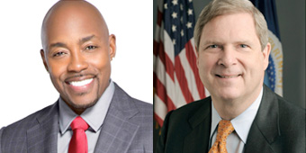 Will Packer and Tom Vilsack