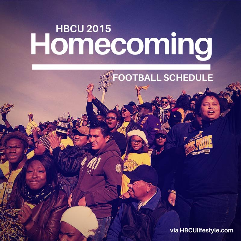 North Carolina A&T State University fans in the stands cheering on their team at the 2014 Homecoming game.