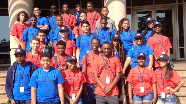 2015 HU/TAI STEM Academy students
