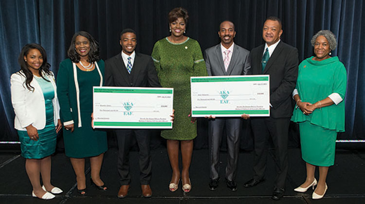 Alpha Kappa Alpha Educational Advancement Foundation Awards Two $10,000 Scholarships for North Carolina Central University Students