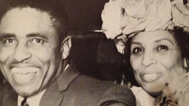 Doris and Eddie Robinson, Sr.