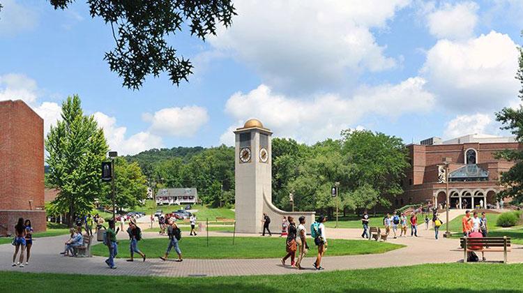 WVSU Clock Tower and Courtyard Clock Tower and Courtyard