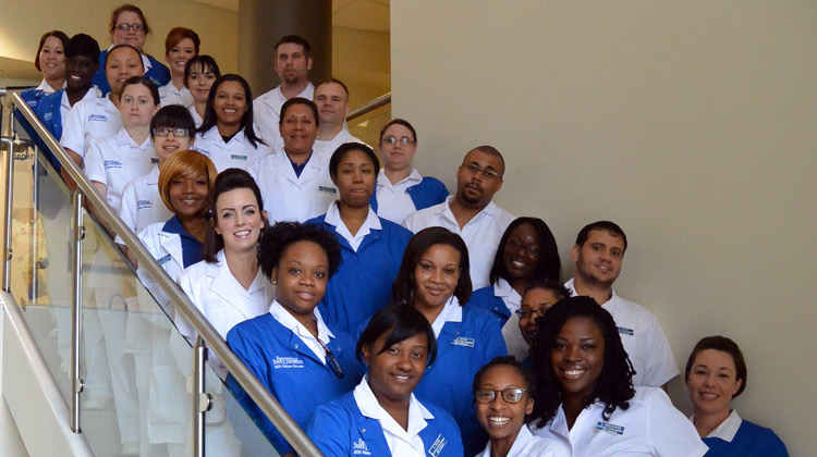 Fayetteville State University's Class of 2015 Pre-Licensure Nursing Students.