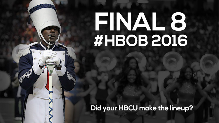 Battle of the Bands: Top 8 HBCUs Selected for 2016 Honda Lineup on January 30, 2016 in Atlanta.