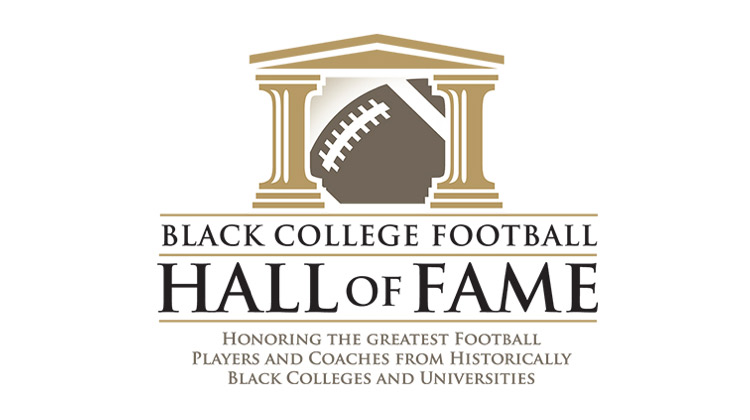 The Black College Football Hall of Fame (BCFHOF) Logo