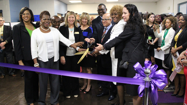 EWC's Schell Sweet Community Health Clinic grand opening and ribbon-cutting ceremony.