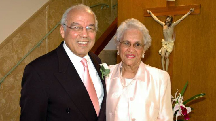 Dr. Norman C. Francis and Mrs. Blanche Francis.