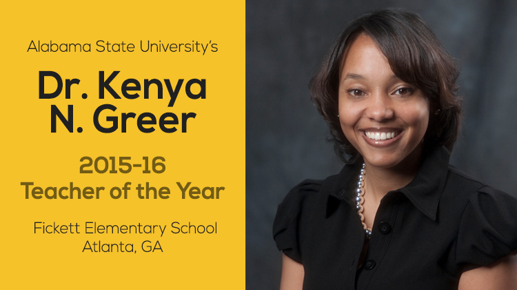 labama State University alumna Dr. Kenya N. Greer