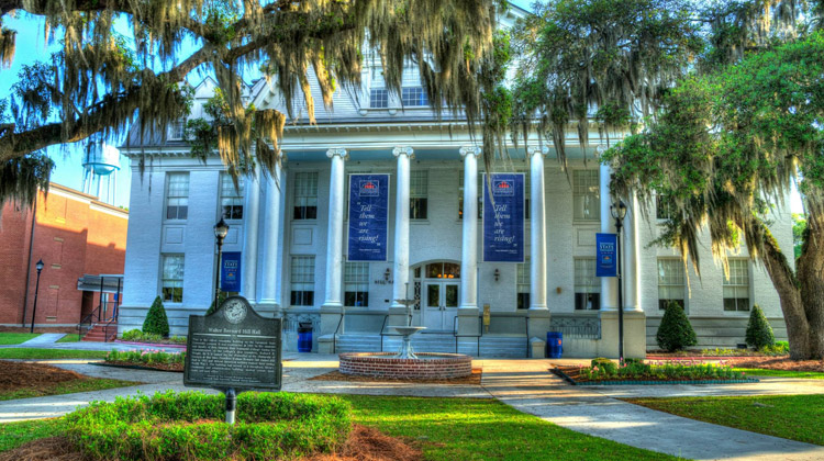 Hill Hall on the campus of Savannah State University was built in 1901 and has served as a dormitory, library, classroom and administrative building, student center, book store and post office.