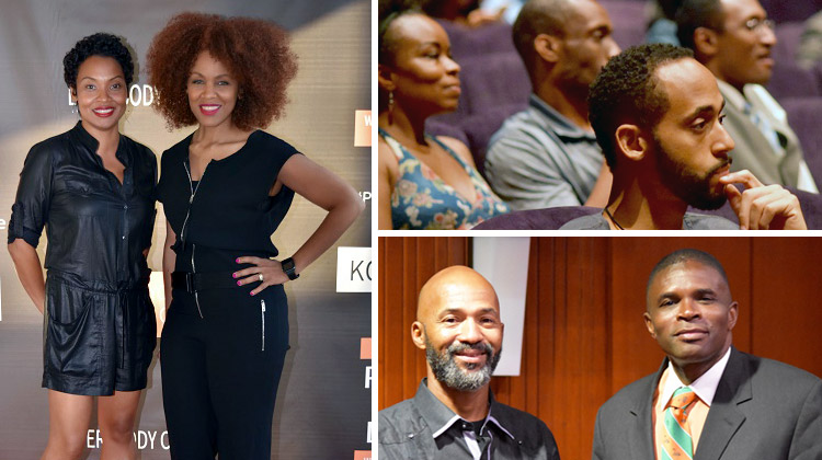 Images from the Point and Drive documentary screening in Atlanta hosted by Brandi Mitchell.