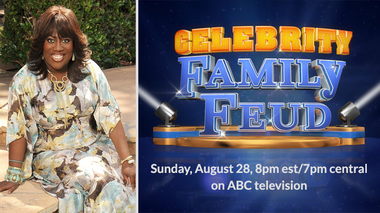 Sheryl Underwood, entertainer, philanthropist and co-host of the Emmy award winning CBS television show THE TALK, and her family join CELEBRITY FAMILY FEUD to play for charity