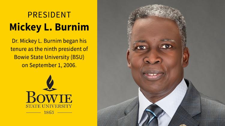Bowie State University President Mickey Burnim to Retire June 2017