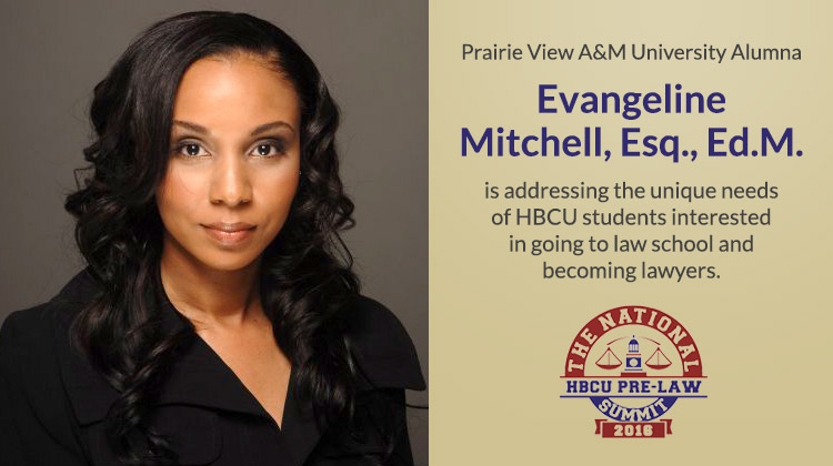 The National HBCU Pre-Law Summit Founder Evangeline Mitchell