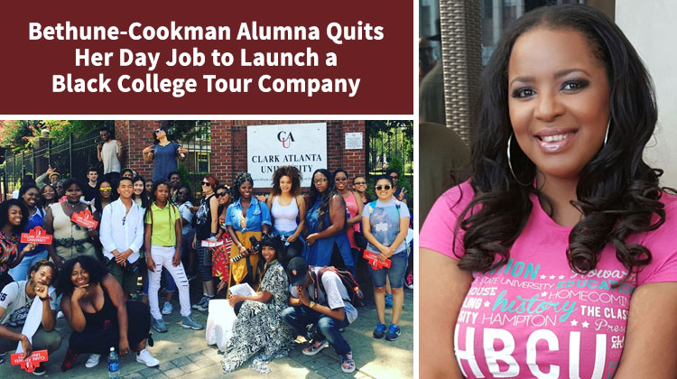 B-CU Alumna Nicole Ford Quits Her Day Job to Launch a Black College Tour Company