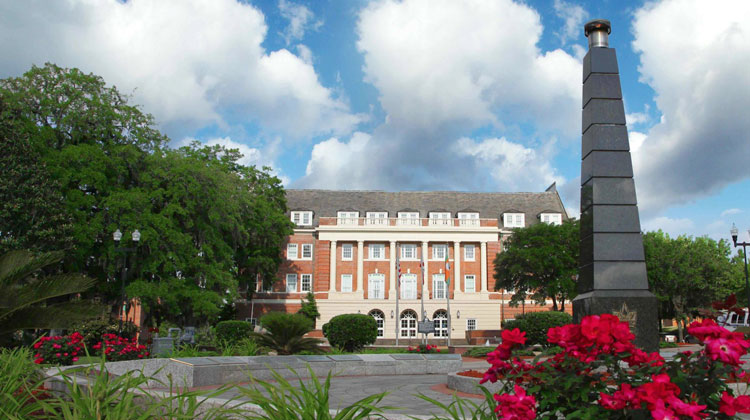 Lee Hall Auditorium was built on the highest hill in Tallahassee, Florida in 1928 not the campus of Florida A&M University (FAMU).
