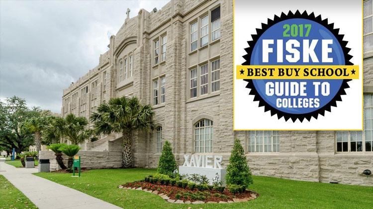 The main campus Xavier University of Louisiana in New Orleans, LA.