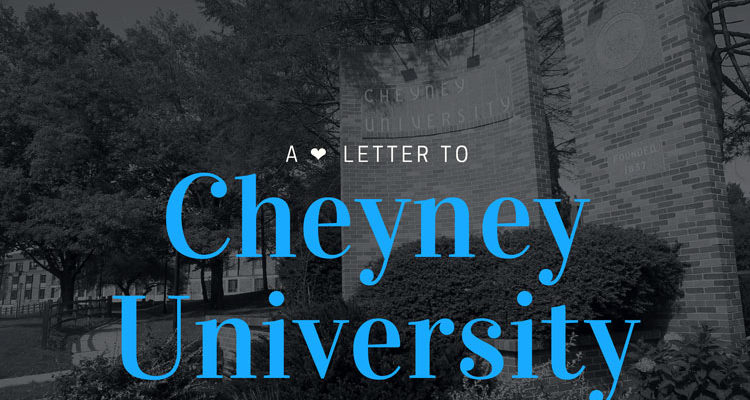 A Love Letter to Cheyney University