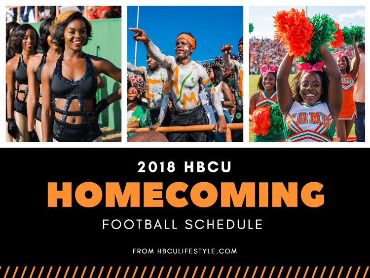 Dancing girls, fans, and cheerleaders take part in the HBCU homecoming tradition at Florida A&M University.