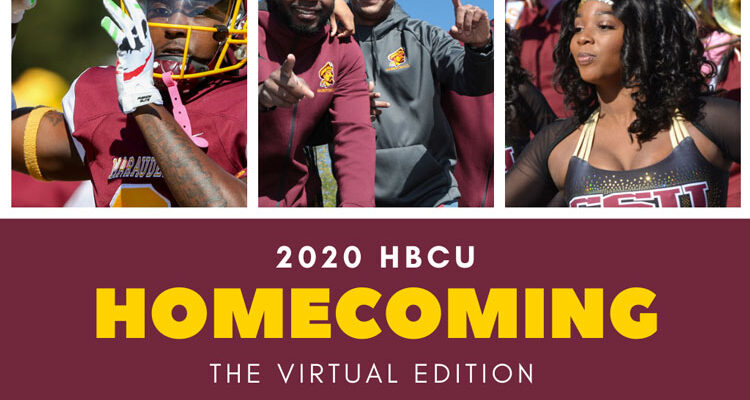 Athletes, fans, cheerleaders and the marching band participate in the annual homecoming festivities at Central State University, a 1890 Land-Grant HBCU located in Wilberforce, OH.